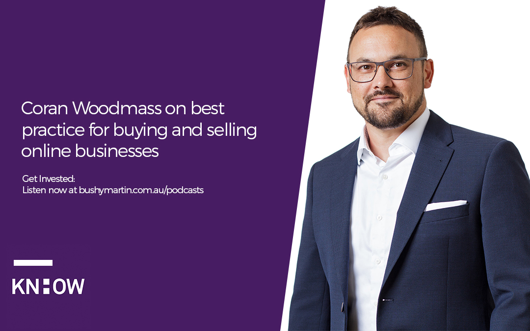 35. Coran Woodmass on best practice for buying and selling online businesses
