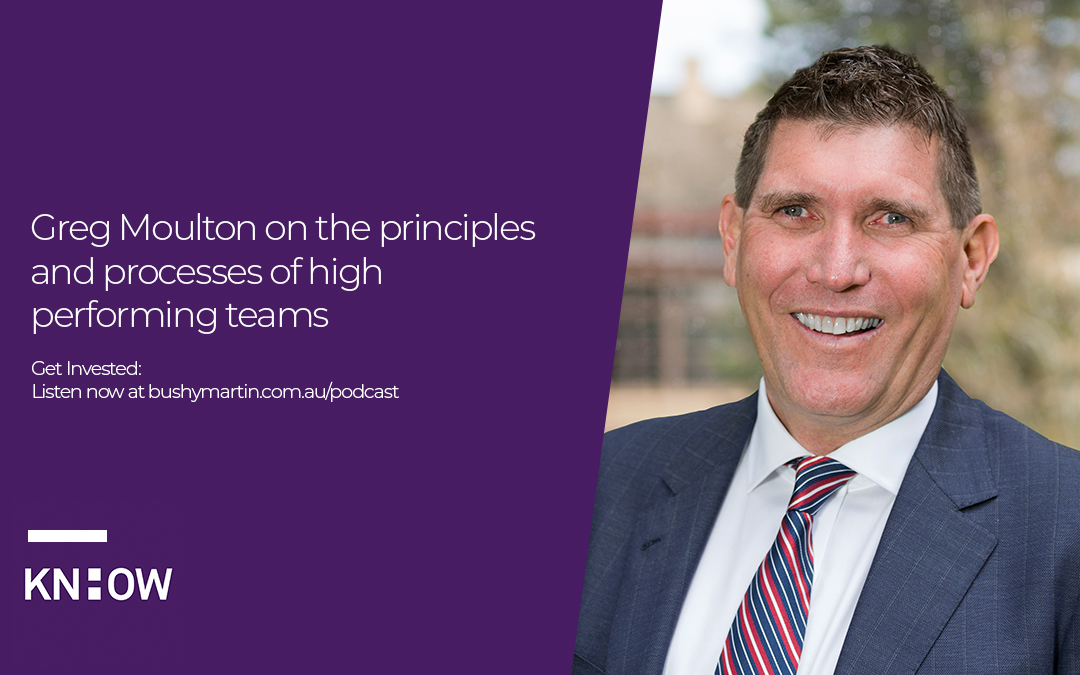 45. Greg Moulton on the principles and processes of high performing teams