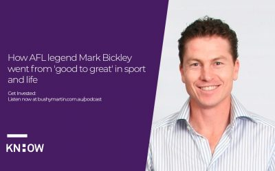 46. How AFL legend Mark Bickley went from good to great in sport and life