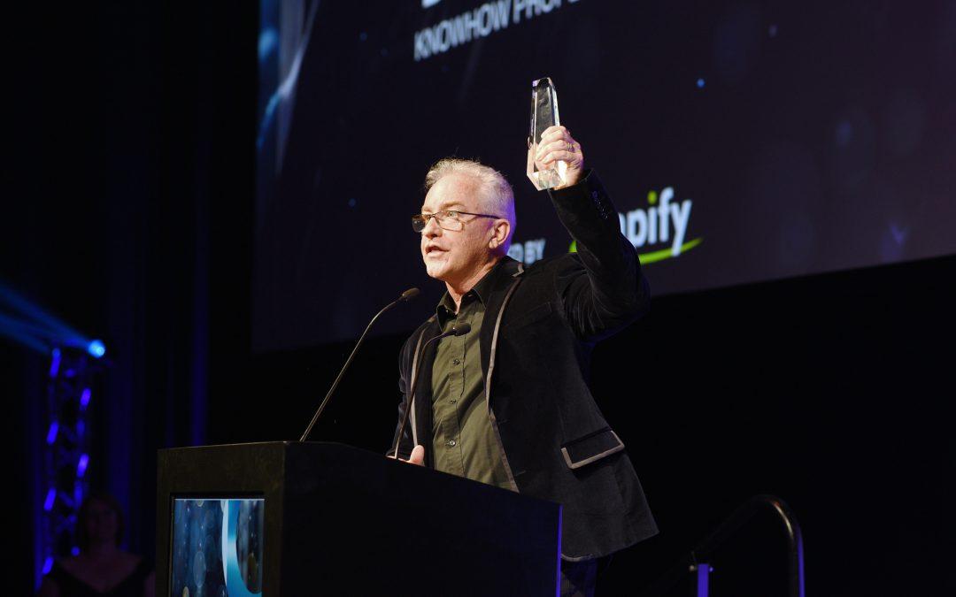 Bushy Martin wins 'Mentor of the Year' award