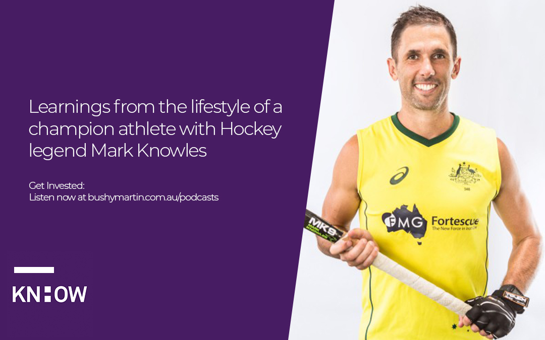 67. Learnings from the lifestyle of a champion athlete with Hockey legend Mark Knowles