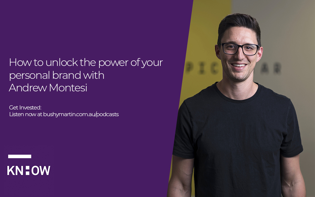 73. How to unlock the power of your personal brand with Andrew Montesi