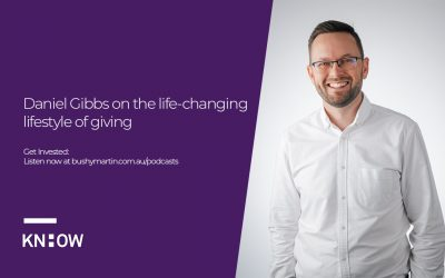 74. Daniel Gibbs on the life changing power of giving