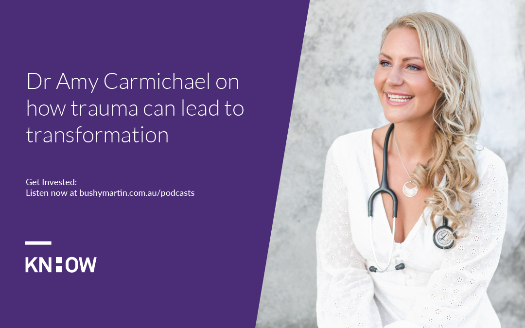 86. Dr Amy Carmichael on how trauma can lead to transformation