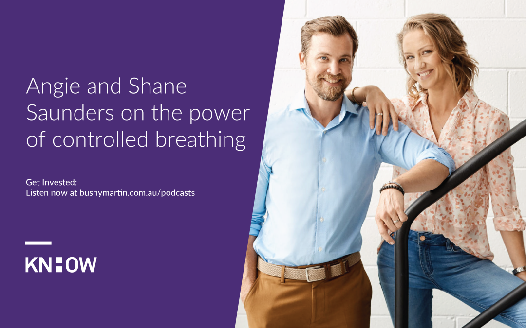 99. Angie and Shane Saunders on the power of controlled breathing