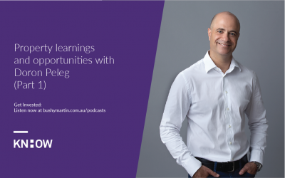 96. Part 1: Property learnings and opportunities with Doron Peleg