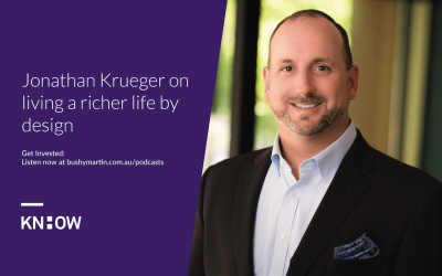 131. Jonathan Krueger on living a richer life by design