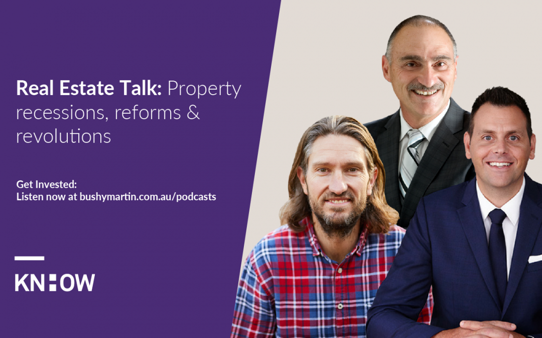 real estate talk property recession reforms