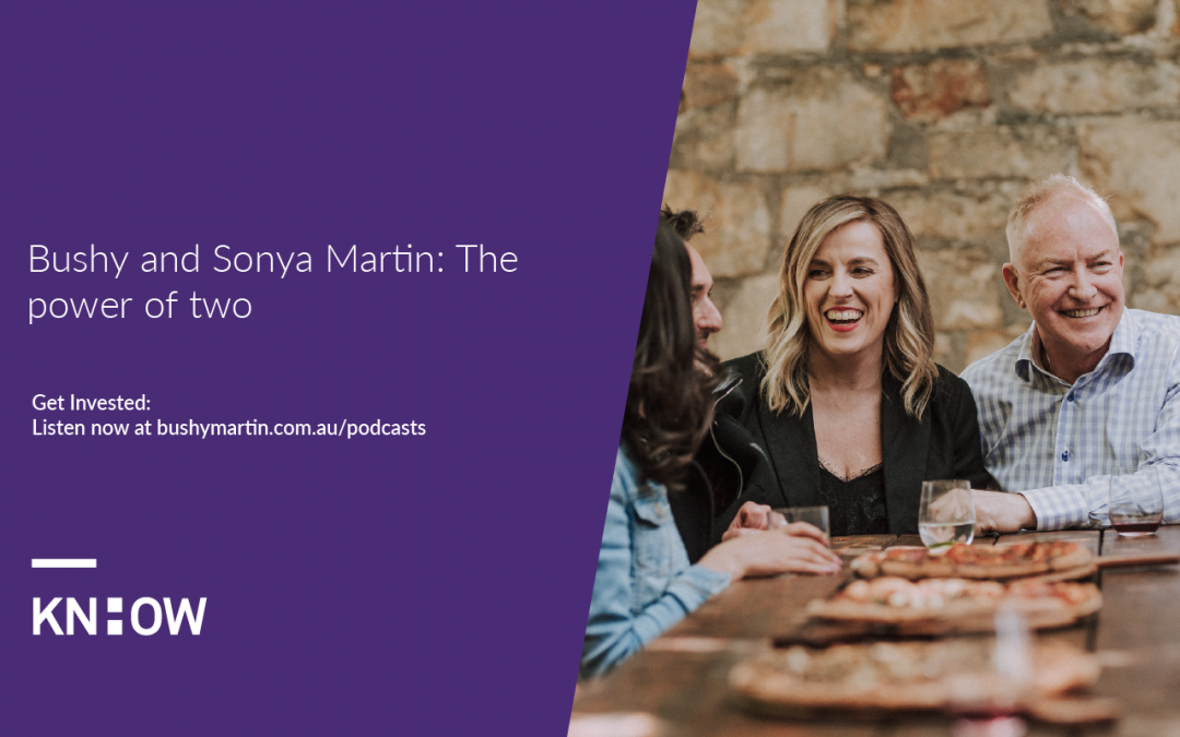 150. Bushy & Sonya Martin: The power of two