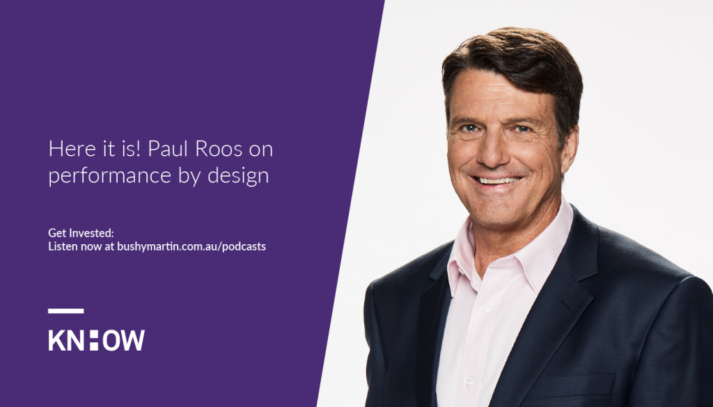 Paul Roos on performance by design