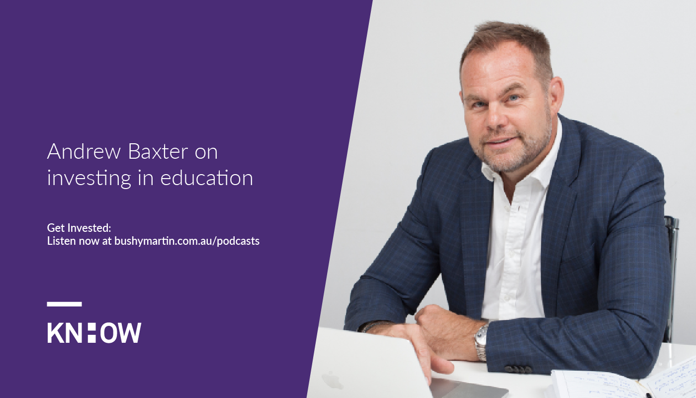 andrew baxter investment education podcast