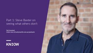 steve baxter podcast interview